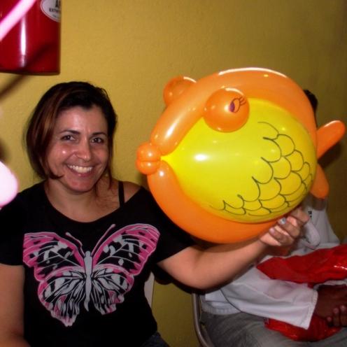 3º Dia _ Oficina de Arte Criativa com Balões