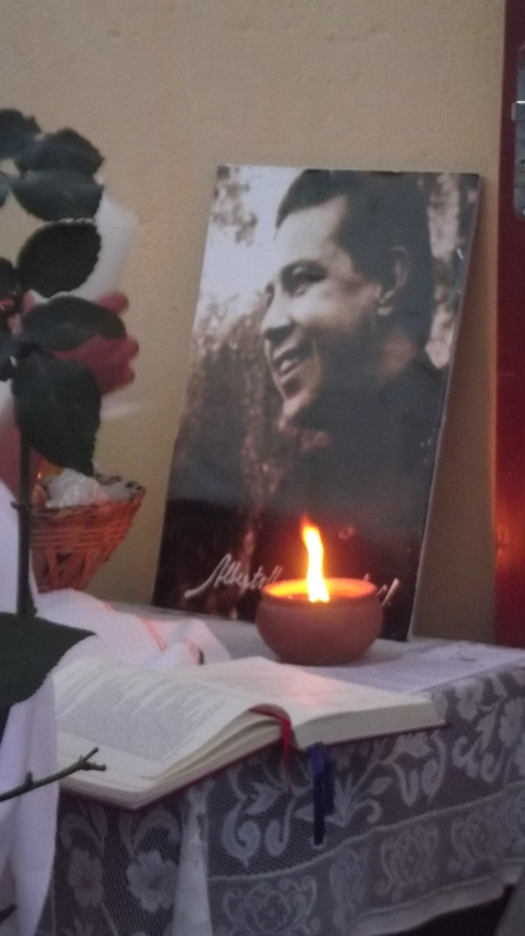 Viva Santo Alberto Hurtado.