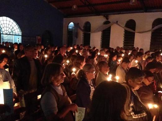 Vigília de Oração pela Paz entre Israel e Palestina.