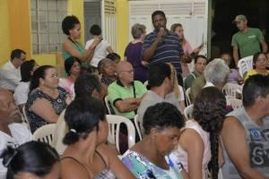 Participantes alegam falta de compromisso do município com a Educação Infantil. Foto (crédito): Clayton Henrique