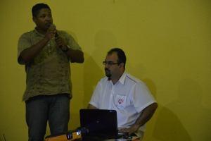 Antonioni Afonso e Wanderlay Balsamão conduzem 3º Encontro do Fórum de Debates Foto (crédito): Clayton Henrique