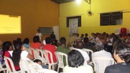 Grande participação de agentes pastorais, integrantes de movimentos sociais e moradores da região do São Benedito. Foto (crédito): Márcia Almeida