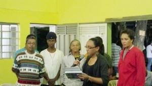 Grupos apresentam demandas e sugestões para a solução dos problemas em saúde de Santa Luzia. Foto (crédito): Márcia Almeida.