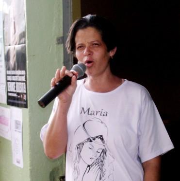 Tarde de Serviços: Maria de Fátima, coordenadora do Apostolado Social da Paróquia Santíssima Trindade.