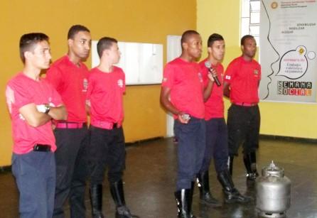 Tarde de Serviços. Primeiros Socorros Associação de Bombeiros Civis de Santa Luzia.