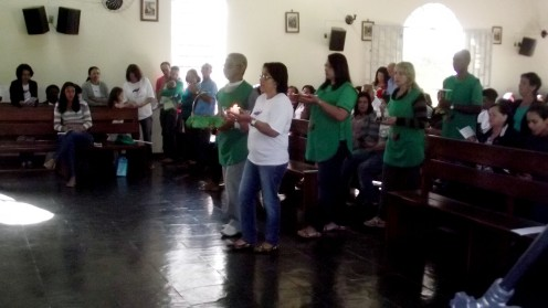 30ª Festa de Nossa Senhora da Penha. Acolhida