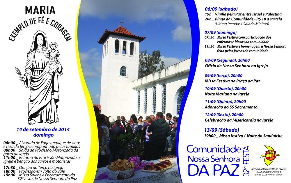 Festa de NossaSenhora da Paz2