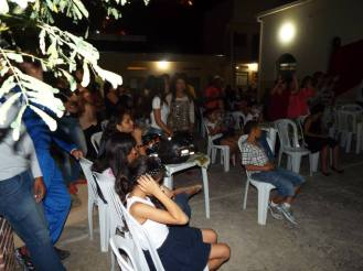 Grande público na noite Musical da Guia.