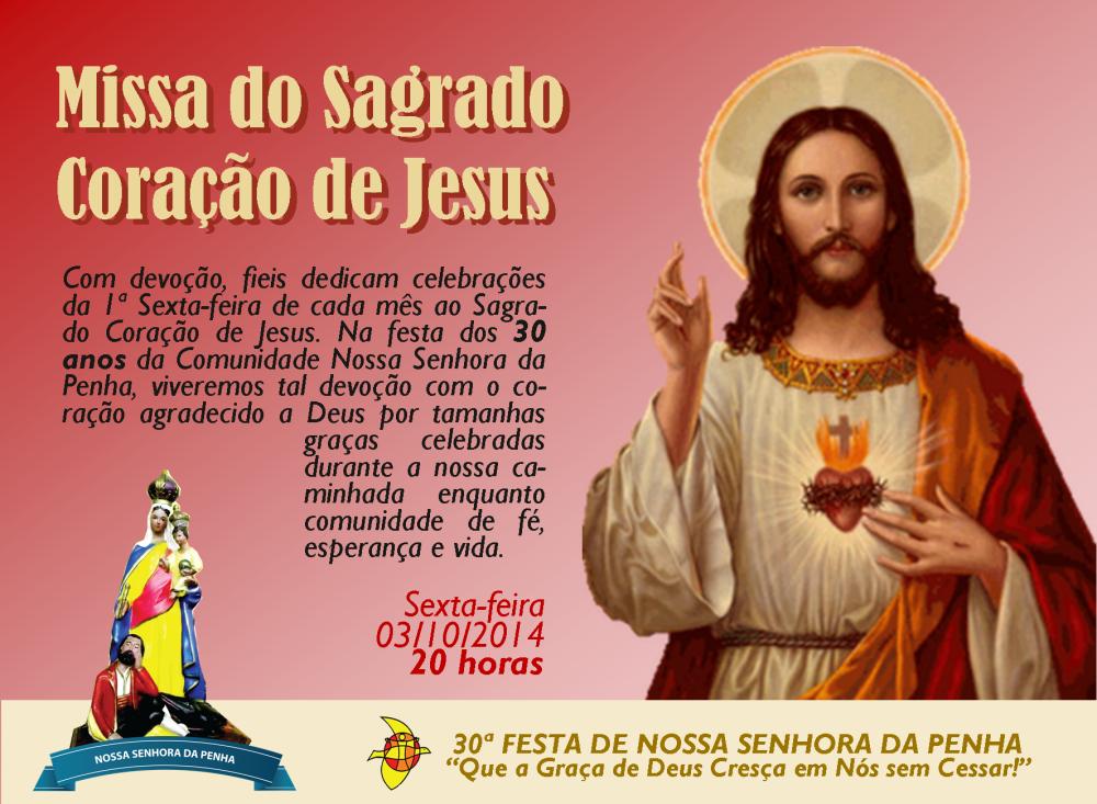 2014.10.03 _ Missa do Sagrado Coração de Jesus