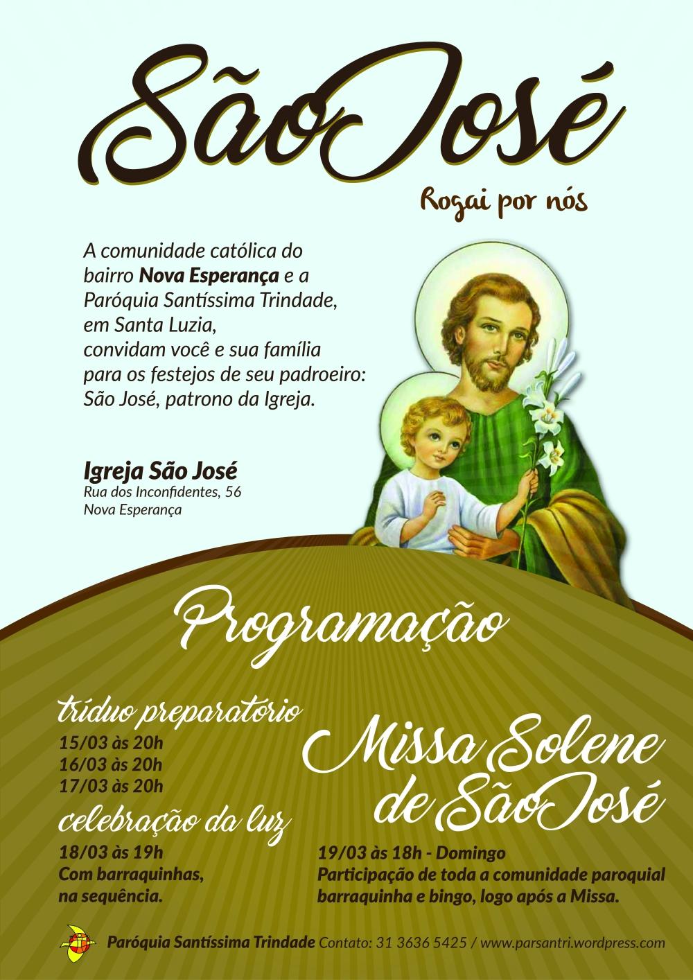 Festa de São José - Cartaz-01