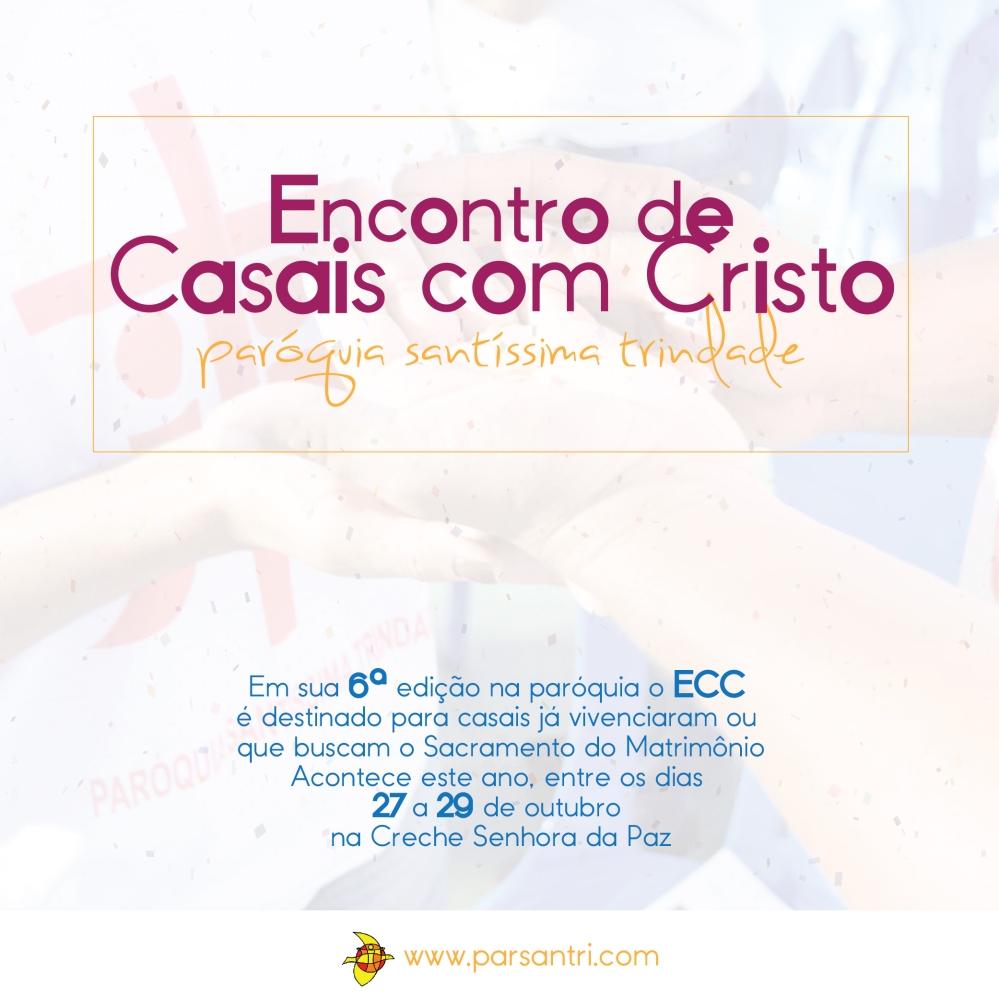 Pastorais - Encontro de Casais com Cristo recebe inscrições-01