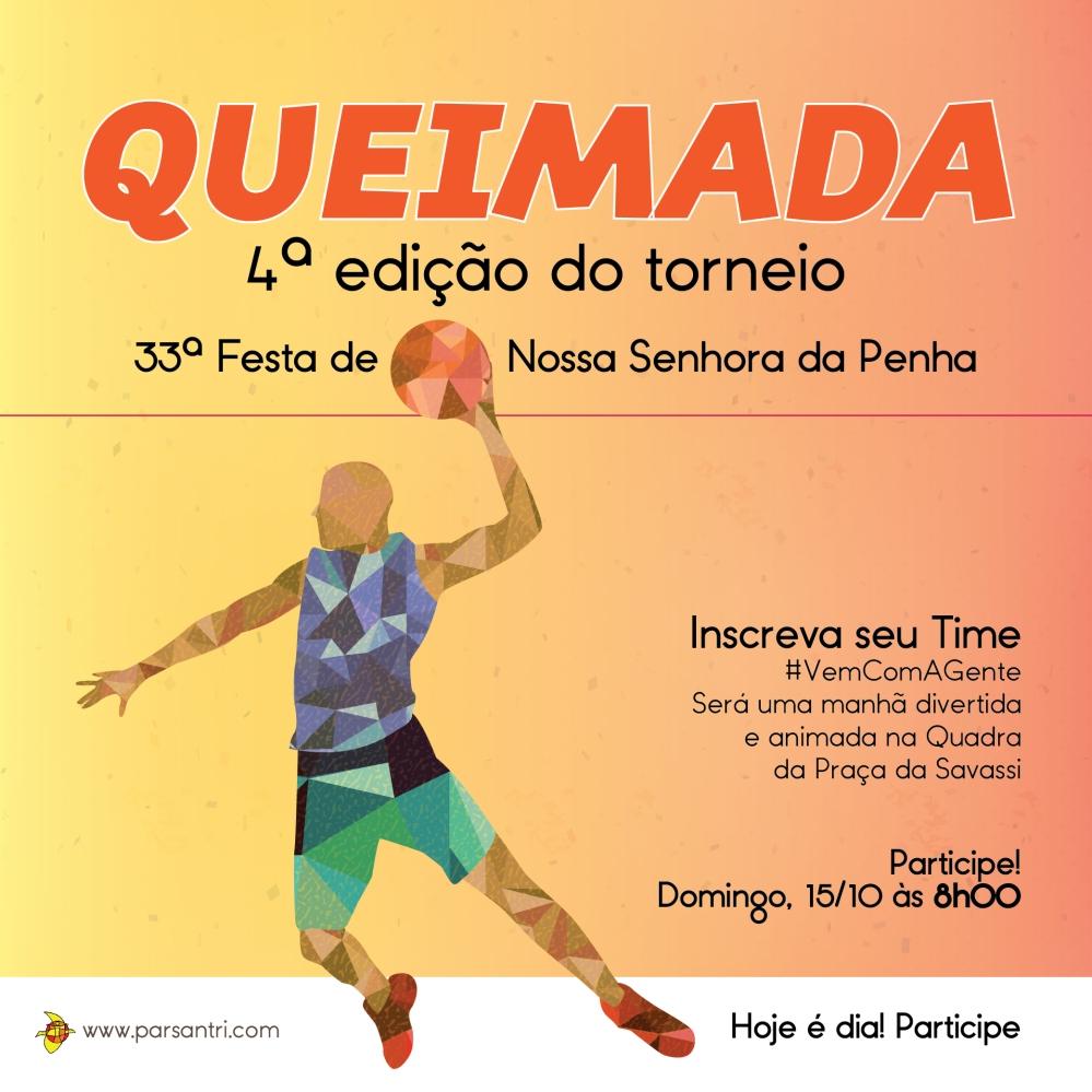 Festa da Penha - Atividades Especiais - Torneio de Queimada-01